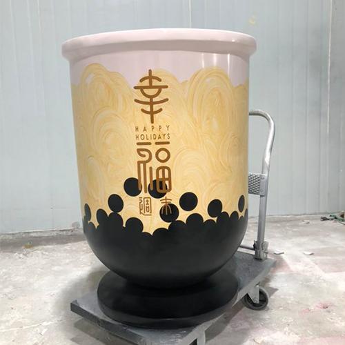 玻璃钢奶茶炉灶