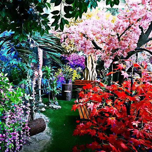 商场装饰树