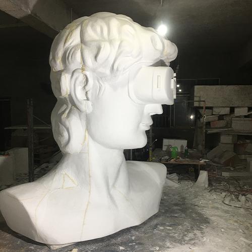 人物泡沫雕塑制作